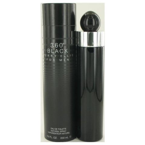 Perry Ellis 360 Black by Perry Ellis Eau De Toilette Spray 6.8 oz