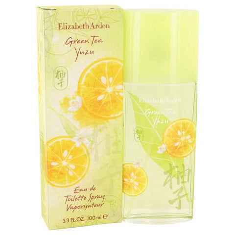 Green Tea Yuzu by Elizabeth Arden Eau De Toilette Spray 3.4 oz