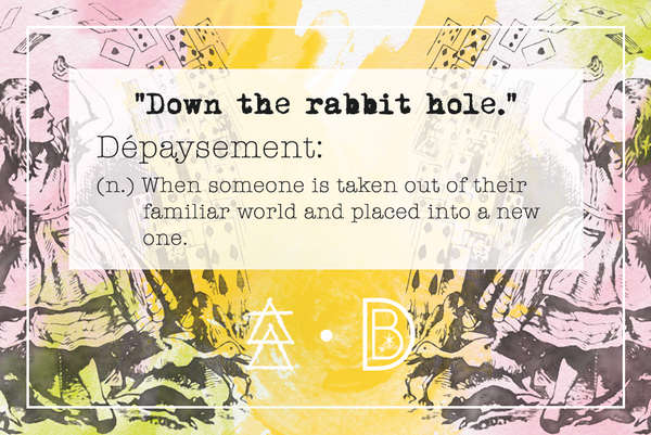 Dépaysement Image | Words of Wonderland