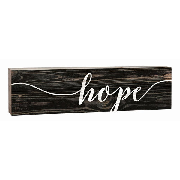 """Hope"" Block Decor - 1.5x6"