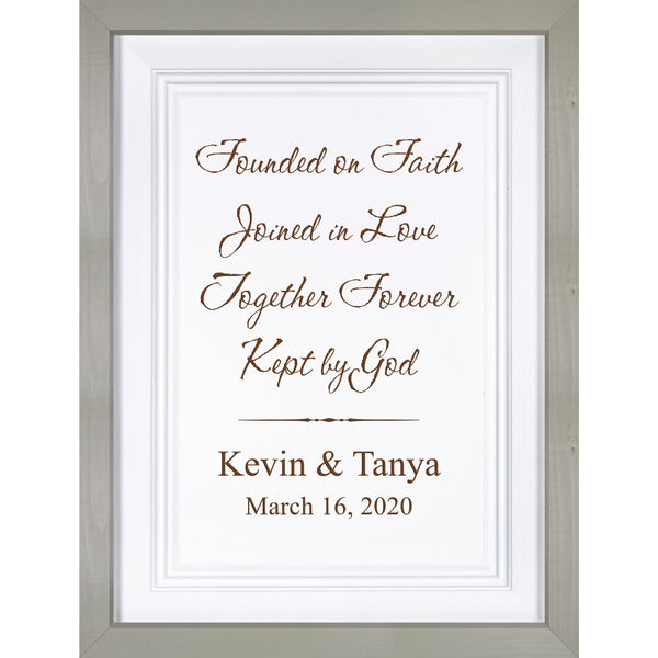 Framed Sign (Engravable)