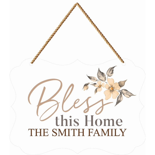 Large Boutique Hanging Sign (Engravable)
