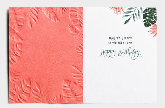 Birthday - A Time For Every Purpose Card  DaySpring  Southern Grace Creations