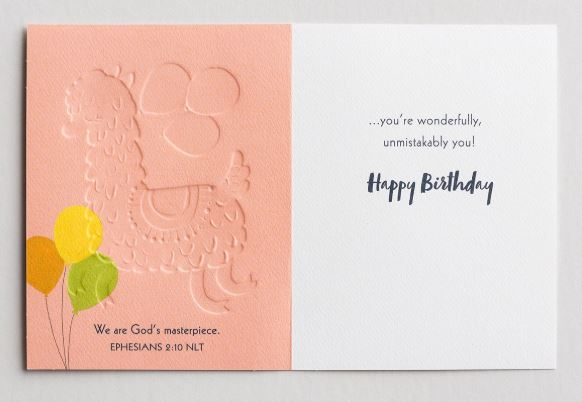 Birthday - Unmistakably You Card  DaySpring  Southern Grace Creations