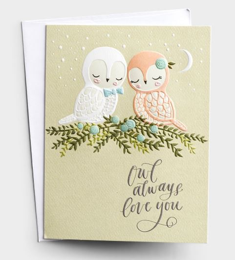 Anniversary - Owl Always Love You Card  DaySpring  Southern Grace Creations