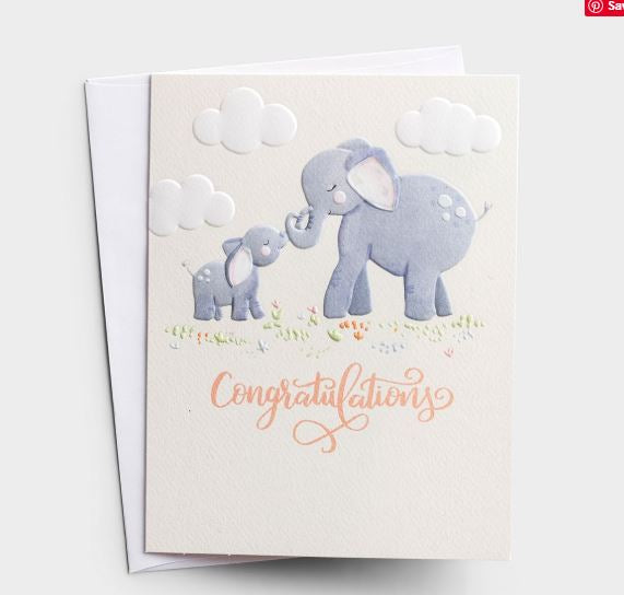 Baby - Congratulations Card  DaySpring  Southern Grace Creations