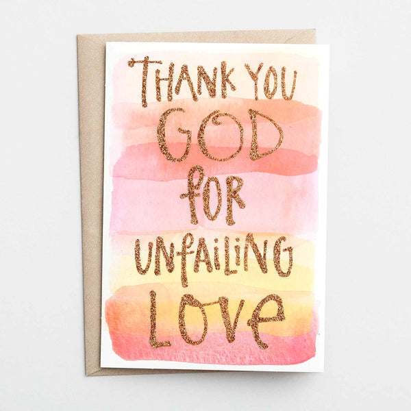 All Occasions - Thank You God Card