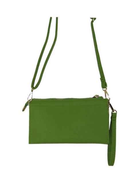 Apple green crossbody - Southern Grace Creations