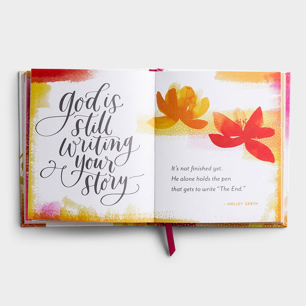 Holley Gerth - Promises from God for Life's Hard Moments - Gift Book  DaySpring  Southern Grace Creations