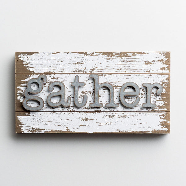 Gather - Wood & Metal Wall Art