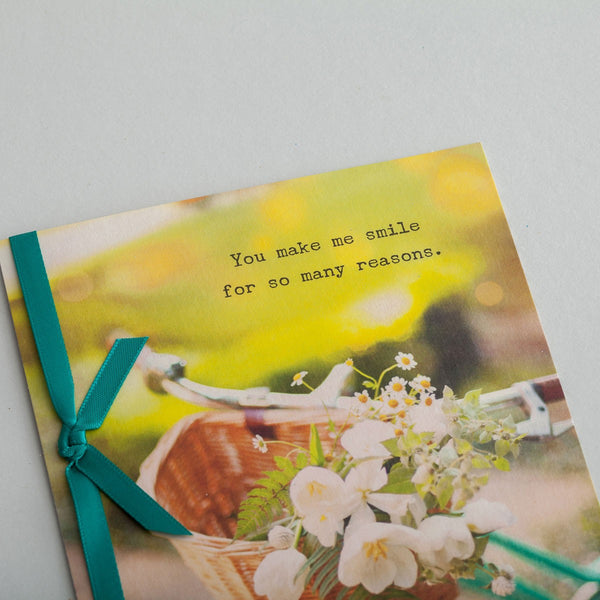 Sadie Robertson - Friendship - You Make Me Smile Card  DaySpring  Southern Grace Creations