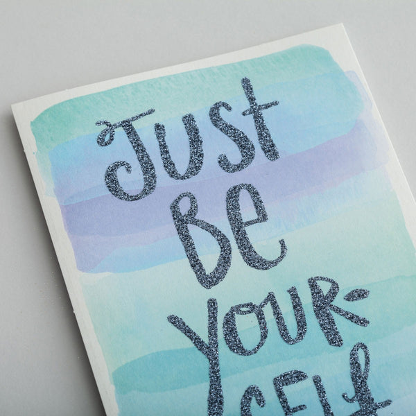 Sadie Robertson - Encouragement - Just Be Yourself Card  DaySpring  Southern Grace Creations