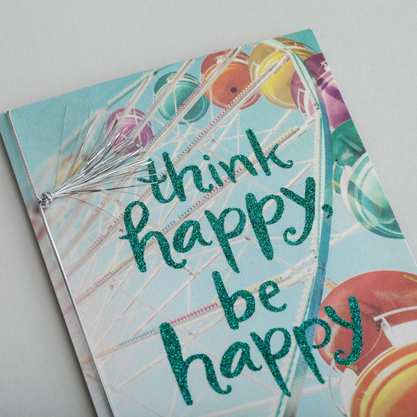 Sadie Robertson - Thinking of You - Think Happy Card  DaySpring  Southern Grace Creations