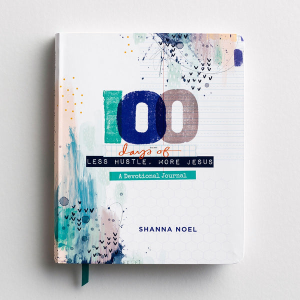 Shanna Noel - 100 Days of Less Hustle More Jesus - Devotional Journal  DaySpring  Southern Grace Creations