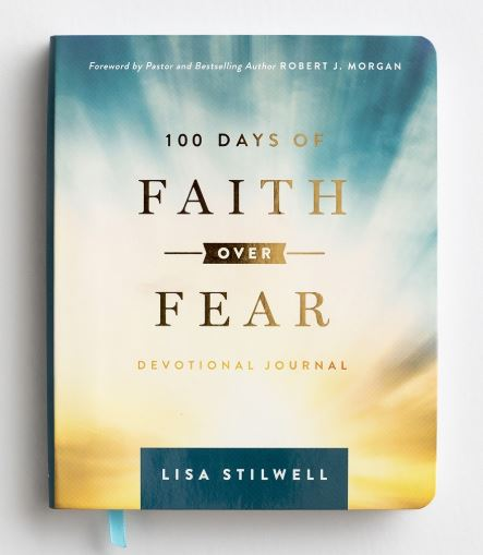 100 Days of Faith Over Fear - Devotional Journal