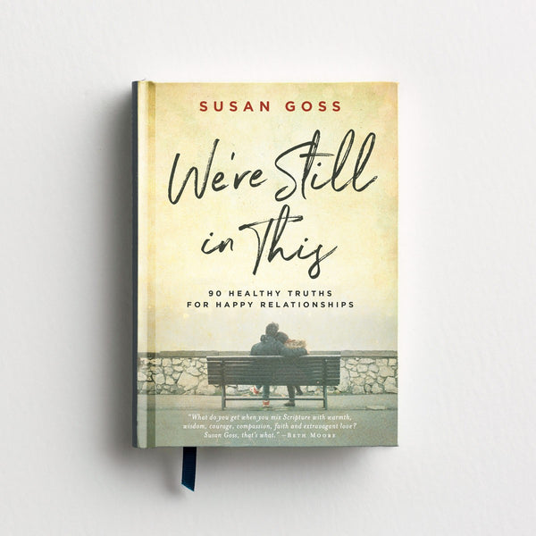 Susan Goss - We're Still In This - Devotional Gift Book  Dayspring  Southern Grace Creations