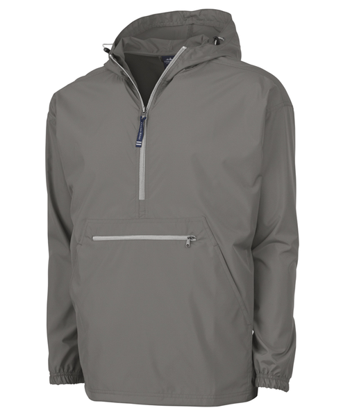 Pack-N-Go PullOver RainJacket-Charles River - Grey