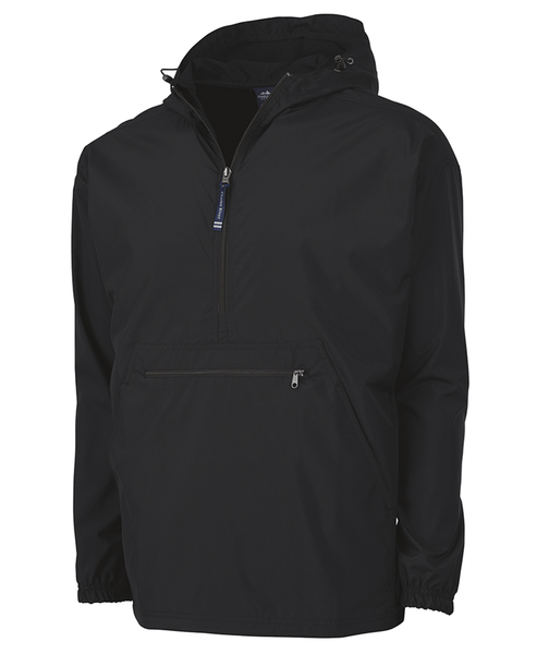 Adult Pack-N-Go Pullover - Black