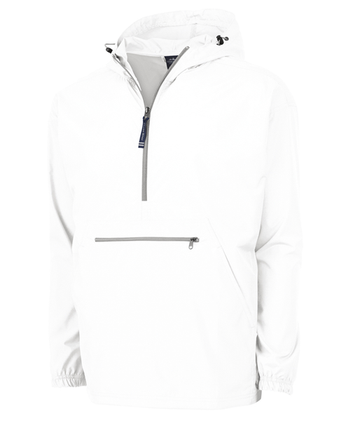 Adult Pack-N-Go Pullover White