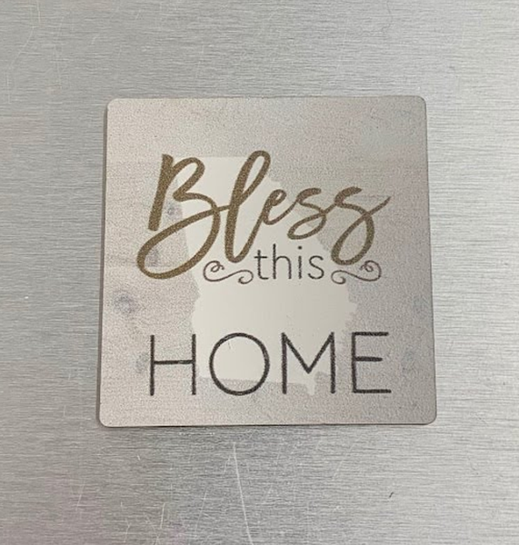 Bless this Home Magnet - GA