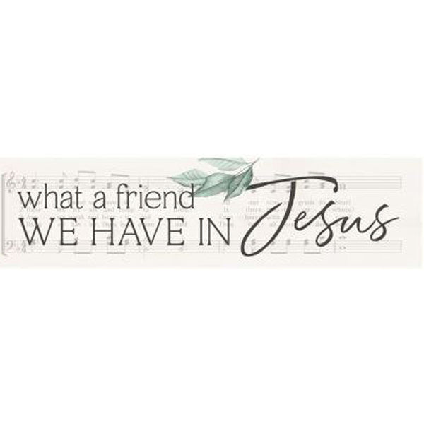 LITTLE SIGN - What A Friend We Have In Jesus