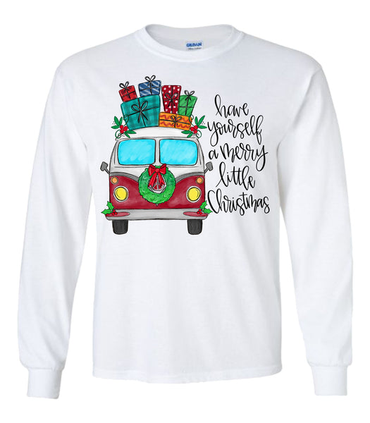 Have Yourself a Merry Little Christmas Van Tee