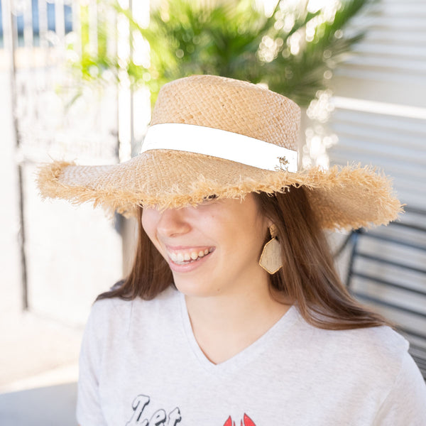 Copy of Hampton Sun Hat - White