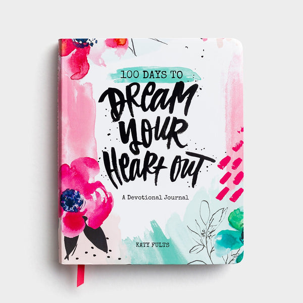Katy Fults - 100 Days to Dream Your Heart Out - Devotional Journal  DaySpring  Southern Grace Creations