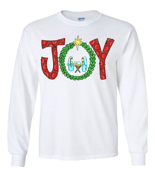 Joy - White Longsleeve