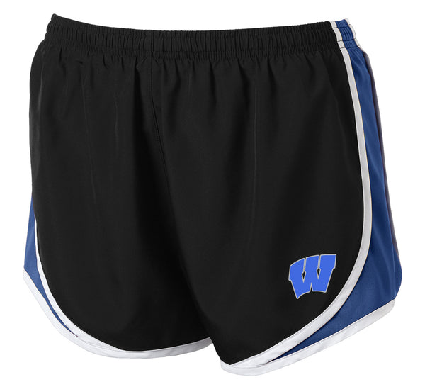 Windsor - Athletic Shorts - Black/ True Royal/ White southern grace creations