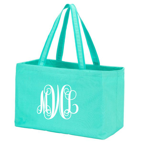 Mint Ultimate Tote - Southern Grace Creations