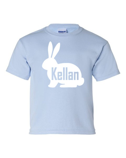 Personalized Bunny Shirt - Easter
