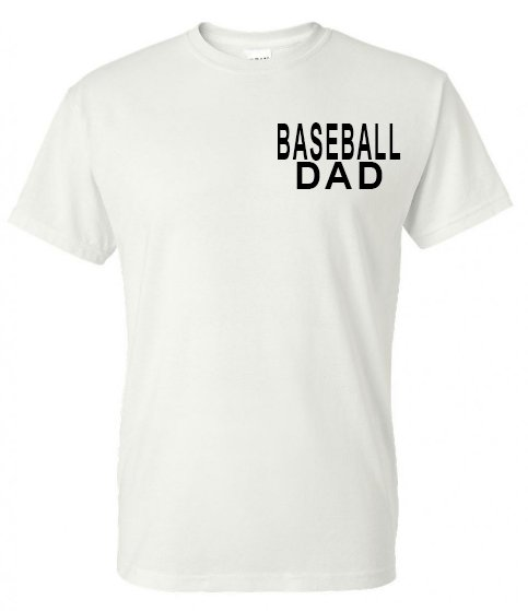 All Dads Are Created Equal - Baseball Tee - Southern Grace Creations