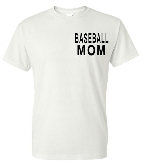 All Moms Are Created Equal - Baseball Tee - Southern Grace Creations