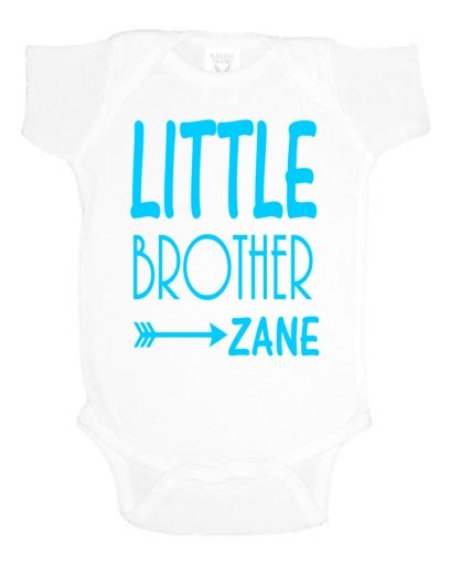Little Brother Onesie - Southern Grace Creations