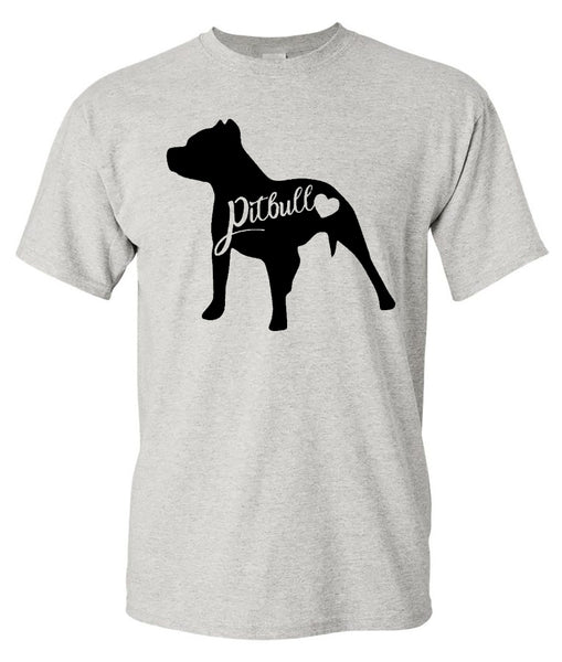 PITBULL TEE - ASH SHORT-SLEEVE