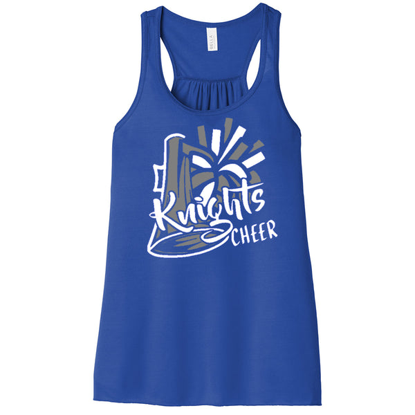 Windsor - Cheer - Knights Cheer - Royal Flowy Racerback Tank (8800/8800Y) (REQUIRED)