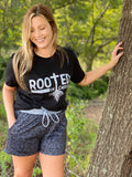 Rooted In Christ Leopard Shorts Set