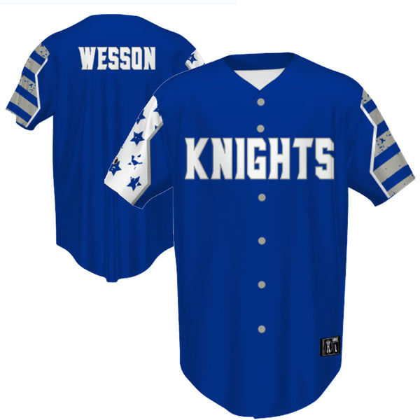 Windsor - Stars And Stripes Sublimated Full-Button Baseball Jersey