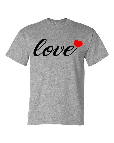Love with Heart Tee - Southern Grace Creations valentines