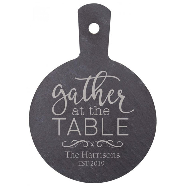 Personalized Slate Serving Board (Engravable)