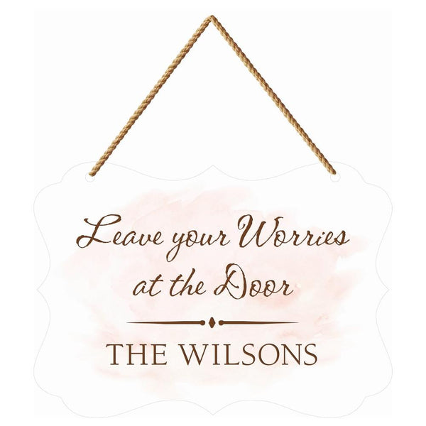 PERSONALIZED BOUTIQUE HANGING SIGN