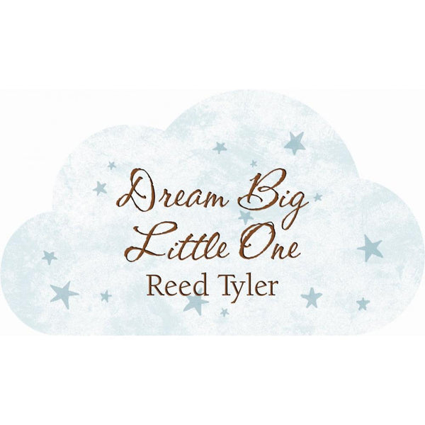 Personalized Cloud Sign (Engravable)
