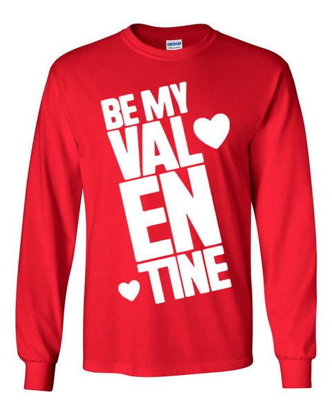Be My Valentine - Red T-Shirt - Southern Grace Creations