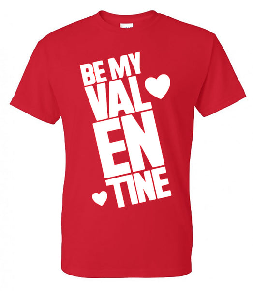 dcfbd68a46fe69 ... Be My Valentine - Red T-Shirt - Southern Grace Creations