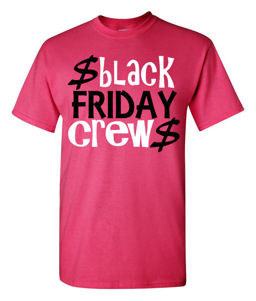Black Friday Crew Tee - Southern Grace Creations