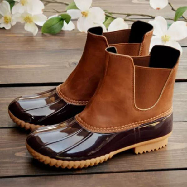 Duck Boots - Brown