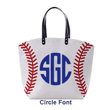 BASEBALL TOTE - Southern Grace Creations