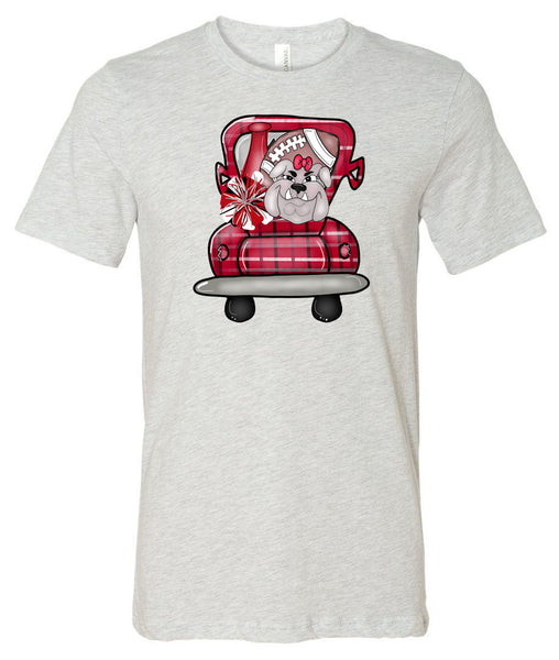 Bulldog Truck - Ash Short/Long Sleeve Tee
