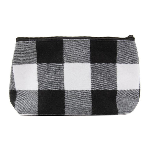 Buffalo Check Cosmetic Bag